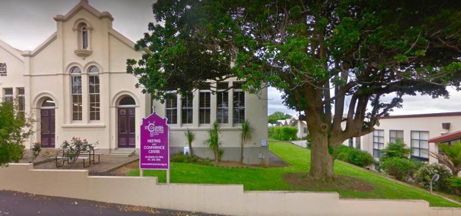 St Columba Centre - outside